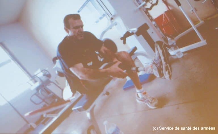 Service de santé : « Maison des blessés et des familles » à Percy
