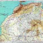 Peuplement Afrique du Nord carte Algérie 1929