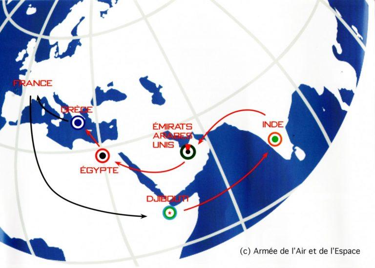 Armée de l'Air et de l'Espace : « Skyros 2021 », mission en interalliés en Eurasie