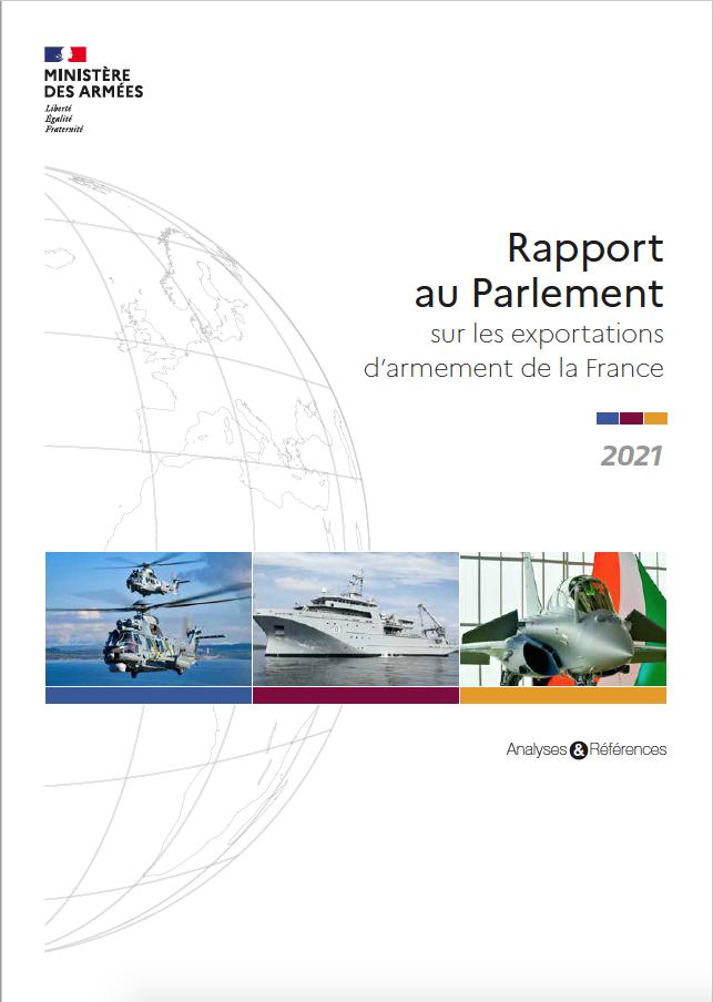 Armement : baisse des exportations françaises en 2020